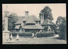 Dorset HENBURY Cottage fountain & children c1900/10s? PPC