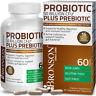 Probiotic 50 Billion CFU Plus Prebiotic Digestive Immune, 60 Vegetarian Capsules