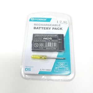 Hyperkin Nintendo DS Rechargeable Battery Pack Replacement Kit NIP