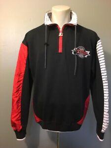 Vtg 80s 90s Starter Chicago Bulls Zip Pullover Sweatshirt Jacket Mens M Jordan