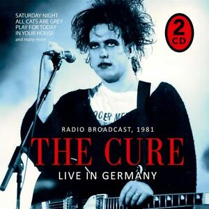 THE CURE  LIVE in Germany (The Early Days/Live on Air) 2 CD NEU & OVP 23.07.2021