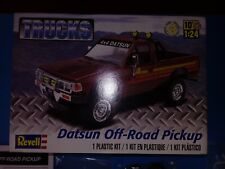 Datsun Off Road Pickup 4X4 Open, Complete Revell 1/25