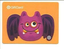 Target Halloween Gift Card No $ Value Collectible #1929 Bat w/ Candy Corn Teeth