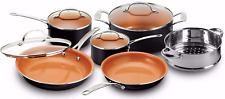 New listing Gotham Steel Pots and Pans 10 Piece Cookware Set with Nonstick Ceramic Coating