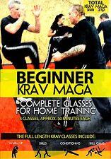 Beginner Krav Maga: Home-Training Follow Along Classes - New DVD!
