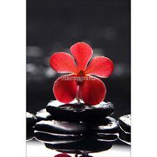 Magnete Da Frigorifero decocrazione Orchidea rosso 60x90cm ref 6240 6240