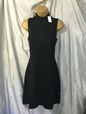 GAP high neck dress in black size M new with tags in packet measurements in des