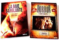 La baie sanglante (BAVA) + Jenifer (ARGENTO) - 2 dvd (Horreur) Très bon état
