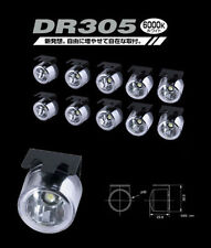 PIAA DR305 6000K White LED Daytime Running Lights Kit 19305 SAE DOT Approved DRL