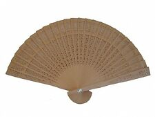 Chinese Sandalwood Folding Hand Fan for Wedding Bridal Party, Baby Show
