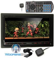 """KENWOOD EXCELON DNN991HD 6.95"""" TV CD DVD BLUETOOTH IPOD NAVIGATION PANDORA GPS"""