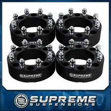 "2006-2008 DODGE RAM 1500 Mega Cab 2WD 4WD 4x 2"" Billet Wheel Spacer Kit Black"