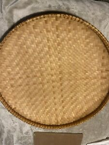 Extra Large Weave Nesting Tray Display Wall