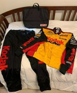 Simpson NASCAR Kodak Racing Penske 2 Piece Firesuit w/Bag