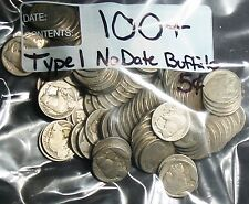 100+ TYPE 1 MOUND Variety No Date Dateless BUFFALO NICKELS 5¢! P Mint Coins