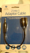 2 IN 1 ADAPTOR BLACK.