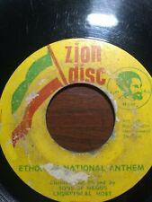 """Sons Of Negus Churchical Host-Ethopian National Anthem/Rejoice 7"""" Vinyl Single"""