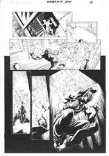Ninjak #4 page 14 Diego Bernard Original Art Valiant Comics 2016