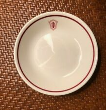 "Vintage Indiana University Small Berry Bowl ~ 4 1/4"""