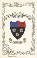 Cambridge, UNITED KINGDOM - Kings College - Coat of Arms