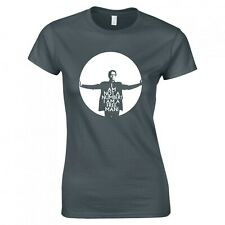 """INSPIRED BY THE PRISONER """"I AM NOT A NUMBER!"""" LADIES SKINNY FIT T-SHIRT"""