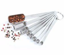 Norpro 3063 - 8 Pc Stainless Steel Measuring Spoon Set
