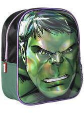 Cartable Sac à dos enfant 3D Hulk Avengers vert