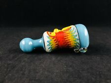 Glass Tobacco Pipes, Heady Pipes, Heady Chillums, Opal Marble, American Made