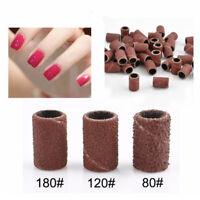 100pcs Nail Art Sanding Bands Set For Nail Drill Machine Bits Manicure Pedicure