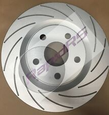 Commodore VT VX VU VY VZ Slotted Disc Brake Rotors Grooved with Brake Pads
