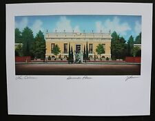 """""""Burnside Place"""" (The Robb Mansion) by Jim Blanchard, signed & titled"""