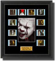 Stephen King IT chapter 1 2017 Framed 35mm Film Cell Memorabilia Filmcells