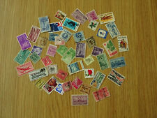 STAMPS  USA    50 ALL DIFFERENT / MIXTURE / COLLECTION         PACK 25 D2