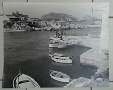 Corse Centuri c 1950. Photo argentique originale vintage/signed Machatschek