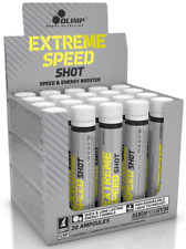 Olimp EXTREME SPEED SHOT Energy Booster Caffeine Taurine, L-tyrosine Pre-workout