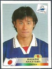 PANINI WORLD CUP FRANCE 1998- #528-JAPAN-MASASHI NAKAYAMA