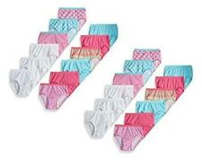 Fruit of the Loom Girls' Big, 24 Pack - Brief - Fashion Assorted, Size 6.0 F0PK