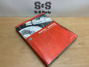Genuine Harley-Davidson Softail Service Factory Workshop Manual 99482-11