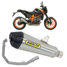 KTM DUKE 690 Full exhaust ARROW X-KONE Nichrom CC 2012-2015