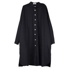 Womens loose fashion trench coat plus size Elegant coat High waist long sleeve