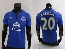 2014-2015 Umbro Everton FC Home Football Shirt BARKLEY 20 SIZE M (adults)