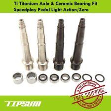 Tipsum Ti Titanium Axle & Ceramic Bearing Fit Speedplay Pedal Light Action/Zero
