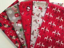 Telas y tejidos de navidad lote