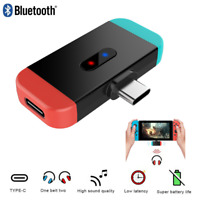 Type-C Wireless Bluetooth Audio Transmitter USB Adapter for Nintendo Switch PS4