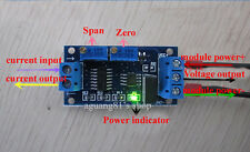 Current to Voltage Transmitter Signal Module 4-20MA to 0-5/10V lineal Conversión