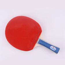 Tennis de table batte ping pong paddle chauve-souris avec étui sac ittf approuvé