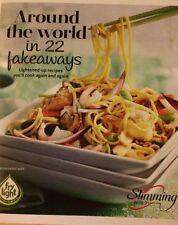 SLIMMING WORLD AROUND WORLD IN 22 FAKEAWAYS 49 PG BOOKLET 22 RECIPES BRAND NEW