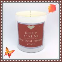 """""""Best MUM Ever"""" Scented Soy Candle - Choose from 23 Wonderful Fragrances"""
