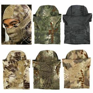 Anti UV Neck Shield Windproof Balaclava Hat Motorcycle Face Mask Warmer