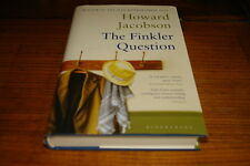 THE FINKLER QUESTION BY HOWARD JACOBSON-SIGNED COPY